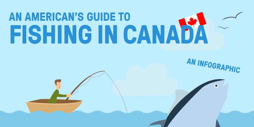 An American's Guide to Fishing in Canada [Infographic]